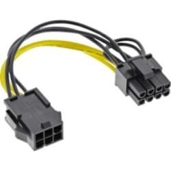 Adaptateur électrique interne, 6 broches - 8 broches pour cartes graphique PCIe (PCI-Express)