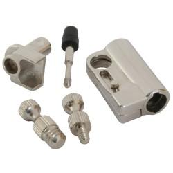 Adaptateur verrou de sûreté, InLine®, pour D-Sub, boîtier PC, Beamer