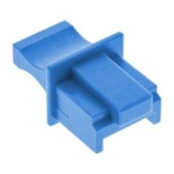 Protège-poussière, InLine®, pour RJ45 prise femelle, couleur: bleu 10/blister