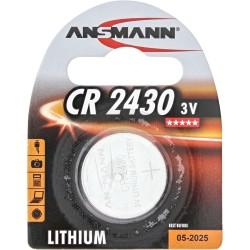 Ansmann pile bouton 3V Lithium CR2430 (5020092)
