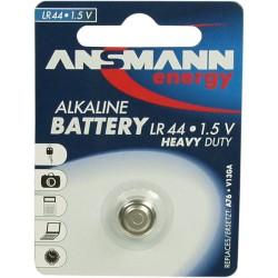 Ansmann pile bouton 1,5V alcaline type LR44 (5015303)
