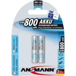 "Ansmann ""maxE"" accumulateur NiMH, Micro (AAA), 800mAh, 2 x blister (5030982)"