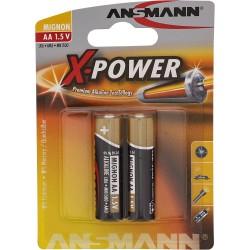 Ansmann alcaline Batterie, Mignon (AA), 2 pcs. (5015613)