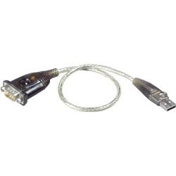 Adaptateur USB - câble sériel, Aten UC232A, USB mâle A à 9 broches Sub D prise