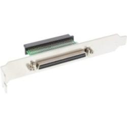 SCSI III U320 Équerre de fente, InLine®, 68 broches mini Sub D fem./fem., interne/externe