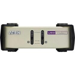 KVM Commutateur, ATEN, 2 x, CS82U, PS/2 et USB