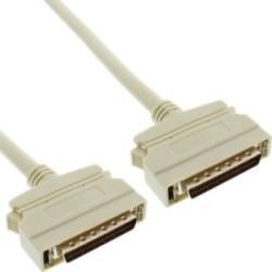 Câble SCSI II 50 broches mini Sub D mâle/mâle 2m