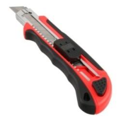 InLine® Allzweck Cutter Messer, 18mm Klinge, mit 3 Klingen