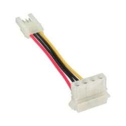 """InLine® Stromadapter, 8,89cm (3,5"""") Buchse zu 13,34cm (5,25"""") Stecker, 6cm"""