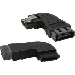 InLine® SATA Adapter Stecker / Buchse, gewinkelt links