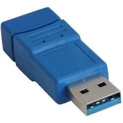 InLine® USB 3.0 Adapter, Stecker A auf Buchse A