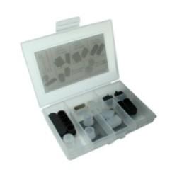 InLine® Staubschutz-Set, für Multimedia (HDMI, DVI, Cinch, Antenne), 14-teilig