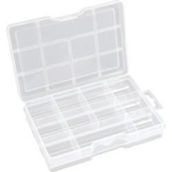 InLine® Kleinteile Leerbox, 11 Fächer, Abmessungen: 213x114x35mm