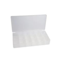InLine® Kleinteile Leerbox, 18 Fächer, Abmessungen: 213x114x35mm