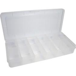 InLine® Kleinteile Leerbox, 12 Fächer, Abmessungen: 260x115x40mm