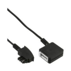 Rallonge TAE-N, InLine®, TAE-N mâle/fem. 10m