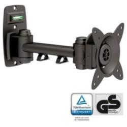 """InLine® Wandhalterung für TFT bis 68cm (27""""), max. 15kg, einteiliger Arm"""