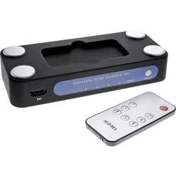 InLine® HDMI Umschalter, 5 IN / 1 OUT, elektronisch, 3D