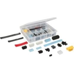 InLine® Staubschutz-Set, für Computer-Schnittstellen, 44-teilig