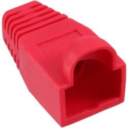 InLine® RJ45 Knickschutztülle, rot, 10er Pack