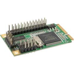 InLine® Mini-PCIe Karte, 2x seriell + 1x parallel