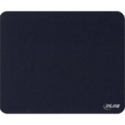 InLine® Maus-Pad antimikrobiell, ultradünn, schwarz, 220x180x0,4mm