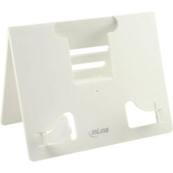 InLine® E-Book Halterung für Schreibtisch, weiß