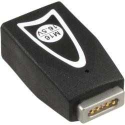 Inline® Wechselstecker M16 16,5V, für Apple, für Universal Netzteil, 90W/120W, schwarz