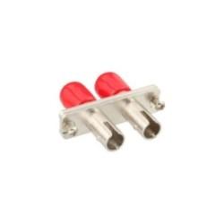 InLine® LWL Kupplung, Duplex ST/ST, Multimode, Keramikhülse, zum Einbau