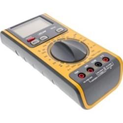 InLine® Multimeter 3-in-1, mit RJ45 / RJ11 Kabeltester und Batterietester