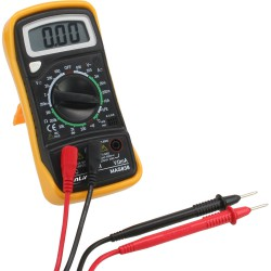 InLine® Multimeter, mit Temperatursensor und Transistormessung