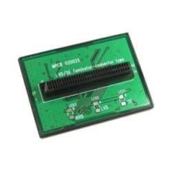 SCSI U320 LVD/SE terminaison, InLine®, interne 68 broches mini Sub D prise femelle, en forme de T