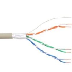 InLine® Telefon-Kabel 6-adrig, 3x2x0,6mm, zum Verlegen, 25m Ring
