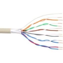 InLine® Telefon-Kabel 12-adrig, 6x2x0,6mm, zum Verlegen, 25m Ring