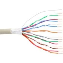 InLine® Telefon-Kabel 16-adrig, 8x2x0,6mm, zum Verlegen, 25m Ring