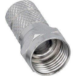 Connecteur F pour câble coaxial avec gaine 6,5mm