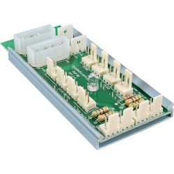Multi Port Panel, InLine®, pour 12 ventilateur