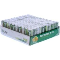 InLine® Alkaline High Energy Batterie, Mignon (AA), 100er Pack