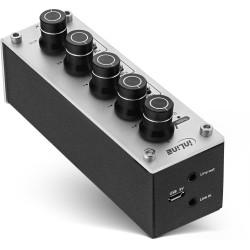 Câble USB 3.0 plat InLine® A vers B noir contact or 3m