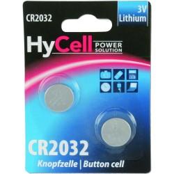 2er Blister Ansmann HyCell Knopfzelle 3V Lithium CR2032 (5020202)