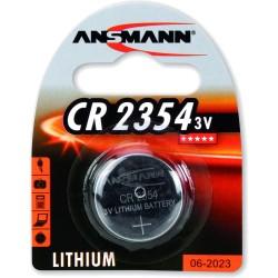 Ansmann Knopfzelle 3V Lithium CR2354, 1er Pack (1516-0012)
