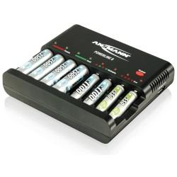 """Ansmann """"Powerline 8"""", Ladegerät für 1-8 Micro AAA/ Mignon AA Akkus, Entladefunktion (1001-0006)"""