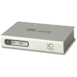 ATEN UC2322 Konverter USB zu 2x Seriell RS232 9pol Sub D