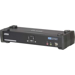 ATEN CS1782A CubiQ KVMP-Switch 2-fach, DVI, USB 2.0, Audio 7.1