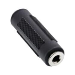 Adaptateur audio, InLine®, 3,5mm jack femelle/prise femelle, Stéréo
