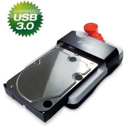 "Fantec HDD-SNEAKER Docking Station mit USB 3.0, 2,5"" & 3,5"", weiß"