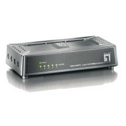 LevelOne, FSW-0508TX, 5 Port 10/100Mbps Desktop Switch