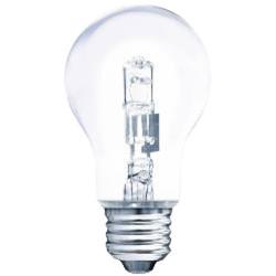 Müller-Licht Halogen-Glaslampe Birnenform 57W 230V E27 915lm 2900K warmweiß dimmbar
