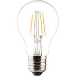 Müller-Licht LED-Lampe Birnenform Retro 6W 230V E27 810lm 2700K dimmbar warmweiß (400177)