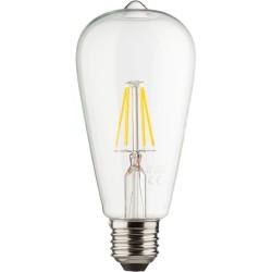 Müller-Licht LED-Lampe ST64 Retro 6,5W 230V E27 810lm 2700K dimmbar warmweiß (400206)